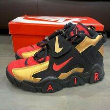 Nike Air Barrage Shoes San Francisco 49er's Red Gold  Men's Size 9 CT1573-700