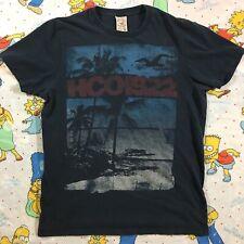 Vtg HOLLISTER HCO 1922 Beach XL Single Stitch T-shirt 80s/90s Surfer Skateboard
