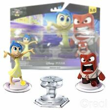 New Disney Infinity Inside Out Playset Joy & Anger Figures Pixar Official
