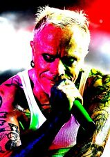 Keith Flint Poster tribute - Retro effect #4 - The Prodigy - A3 - 420mm x 297mm