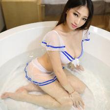 Sexy lingerie, transparent uniform, allure, spice, sailor suit