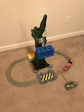 Thomas Train Trackmaster Cranky and Flynn Save the Day Playset Remote Sounds!