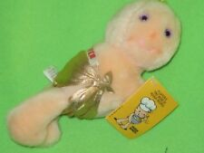 Taco Bell Hallmark Hugga Bunch FLUFFER BABY IN GOLD DIAPER Plush Doll Toy Tag