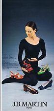 Publicité Advertising 016 1972 J.B. Martin chaussures femme