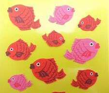 Japanese koi fish stickers! Kawaii tayaki red bean bun, cute Japan food, emoji