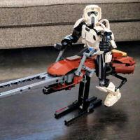 Building Blocks Star Wars Sets 5321 Scout Trooper & Speeder Bike Model Kids Toys
