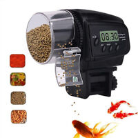Auto Digital LCD Feeding Timer Automatic Fish Food Feeder  for Aquarium Tank AU