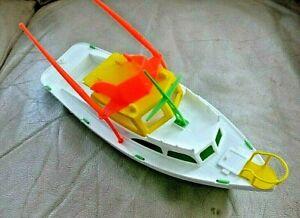 """Vintage Plastic Fishing Boat Processed Plastics? 12"""""""