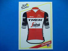 Panini Tour de France 2019 Card C18 Maillot TREK-SEGAFREDO