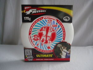 Ultimate Frisbee Disc Sport Disc White Red And Blue
