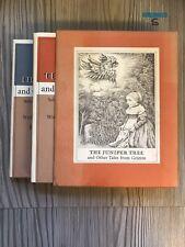 THE JUNIPER TREE Other Tales from Grimm (2 vols Boxed) SEGAL SENDAK 1973 1st Ed