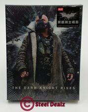 THE DARK KNIGHT RISES 4K UHD Blu-ray STEELBOOK [HDZETA] LENTICULAR OOS/OOP