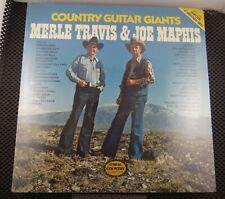 Merle Travis, Joe Maphis – Country Guitar Giants (CMH Records – CMH-9017)