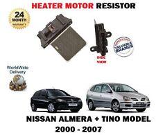PER NISSAN ALMERA+TINO 1.5 1.8 2.0 2.2 DCI 00-07 MOTORE RISCALDATORE RESISTORE