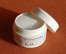 Aufbau und French Acryl Pulver  klar  Puder 22,5 g