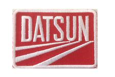 Datsun Iron On / Sew On Badge