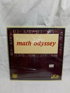Vintage Amiga Software Math Odyssey by Polyglot Software New Old Stock Open Box