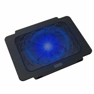 Gaming USB Super Ultra Thin Laptop Cooling Pad Notebook Silent Blue LED Fan New
