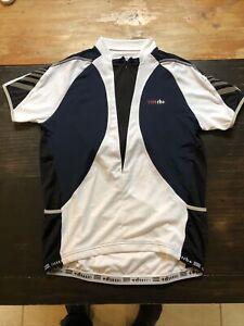 ZeroRH+ Cycling Performance Short Sleeve Top Jersey Mens Size XXL 1/4 Zip Jacket