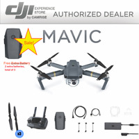 DJI Mavic Pro Drone quadcopter 4K Camera  Free 2 Extra Battery (total 3 )