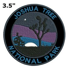 Joshua Tree National Park Embroidered Patch Iron / Sew-On Souvenir Gear Applique