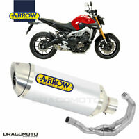 YAMAHA MT-09 2013 2014 Full exhaust ARROW THUNDER ALU