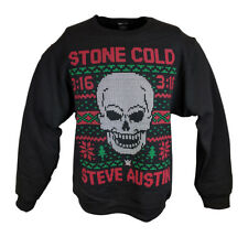 Stone Cold Steve Austin 3:16 WWE Ugly Christmas Mens Sweater Sweatshirt