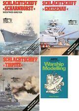 BREYER S., Schlachtschiff Tirpitz - Schlachtschiff Gneisenau - Schl. Scharnhors