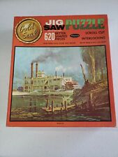 Vintage Whitman Complete Jigsaw Gold Seal Puzzle 620 Piece #4630 Whippoorwill