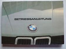 Betriebsanleitung/Serviceheft - BMW E28 - 518, 520i, 525i, 528i, 9.1981, 200 S.