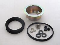Horn ring fitting kit for your steering wheel.  Fits Porsche 356 PreA & A 1953-5