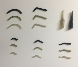 100 X Carp Fishing Hook Sleeves in Various Types - Making Different Carp Rigs