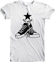 Converse All Star Tee T Shirt Men's Handmade Team Sports Retro Vintage Football