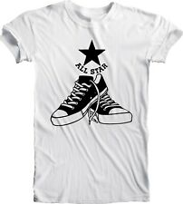 Converse All Star Tee T Shirt Men's Handmade Team Sports Retro Vintage Football