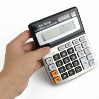 8 Digits Display Desktop Calculator, Dual Power with Sound - Accounts & Business