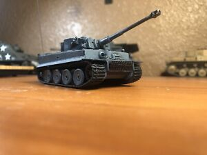 dragon armor 1/72 Tiger I - Micro Tech RC Tank Eastern Front March 1943