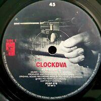 "Clock DVA - Resistance / The Secret Life Of The Big Black Suit - Ex Con 7"""