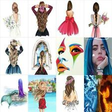 5D DIY Full Drill Diamond Painting Girl Embroidery Mosaic Craft Cross Stitch Kit