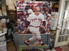 """New listing 1976 STUDIO ONE FRED LYNN BOSTON RED SOX POSTER  24"""" X 36"""" EXCELLENT"""