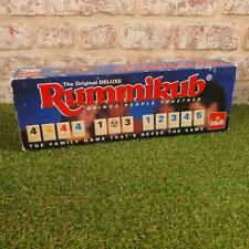RUMMIKUB - The Original Deluxe Game with Solid Case - RARE