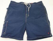 """Polo Ralph Lauren Para hombres Pantalones Cortos de Natación Azul Marino Kailua tronco tamaño 2XB Big Reino Unido 42-44"""""""