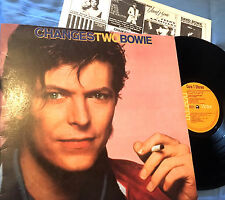 DAVID BOWIE - LP CHANGES TWO BOWIE - SPANISH EDITION ORIGINAL RCA 1981