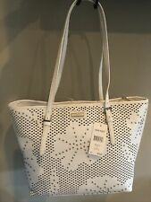 Nine West AVA Tote Bag White