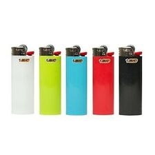 Bic Classic Cigarette Lighter 12 Piece-Assorted Colors Full Size