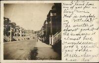 Boston MA Cancel DRAPER STREET - Dorchester Section of Boston, MA 1914 RPPC