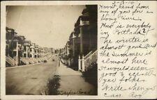 Boston MA Cancel Drakes Road Homes 1914 RPPC Arlington or Burlington?