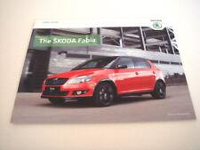 Skoda Paper 2012 Sales Car Brochures