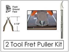 GeetarGizmos FRET PULLERS / SLOT CLEANER - 2 Tool Kit Guitar Luthier