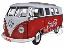 1962 VOLKSWAGEN SAMBA BUS COCA COLA RED/WHITE 1/18 MODEL BY MCC 397471
