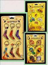 18 Australian Keychains Souvenir Boomerang  Aboriginal Art Australia Animals